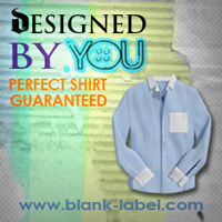 Men's dress shirts, Fitted Dress Shirts by Blank Label
